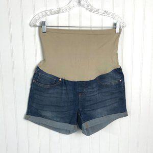 COPY - BELLAVIDA Maternity Shorts Full Panel L